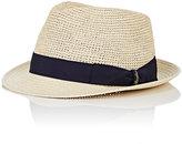 Borsalino Men's Straw Panama Hat-CREAM