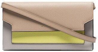 Marni multicoloured leather yellow pocket mini bag