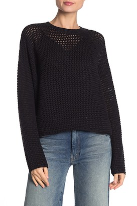 Joie Diza Open Knit Pullover Sweater