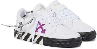 Off-White Arrow 2.0 canvas sneakers