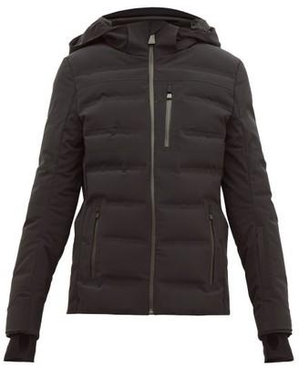Aztech Mountain Nuke Quilted Ski Jacket - Black