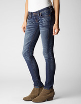 "True Religion Womens Stella 32"" Mid-Rise Jeans"