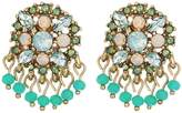 Marchesa Lighter Than Air Cluster Button Earrings Earring