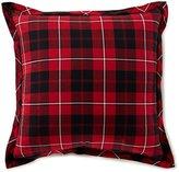 Daniel Cremieux Cameron Buffalo Plaid Flannel Square Feather Pillow