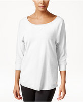 Calvin Klein Three-Quarter-Sleeve Top