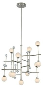 Linear Crystal Chandelier Shop The World S Largest Collection Of Fashion Shopstyle
