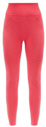 PRISM² Prism - Lucid High-rise Stretch-jersey Leggings - Dark Pink