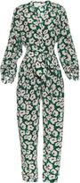 Stella McCartney Monia poppy-print silk crepe jumpsuit