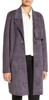 Kenneth Cole New York Women's Sueded Trench Coat