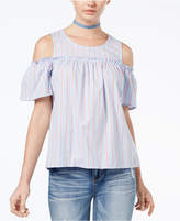 Ultra Flirt Juniors' Cold-Shoulder Top
