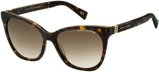 Marc Jacobs The Acetate Rectangle Gradient Sunglasses