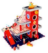 Janod Pretend Play Fire Station Set