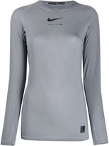 Alyx x Nike raglan-sleeves logo top
