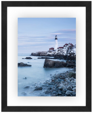 "Americanflat Floating Picture Frame, Black, 8""x10"", 11""x14"""