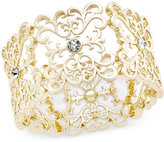 INC International Concepts Crystal Filigree Stretch Bracelet, Only at Macy's