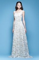 Carolina Herrera Women's Guipure Lace A-Line Gown