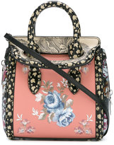 Alexander McQueen small Heroine tote - women - Leather/Cotton - One Size
