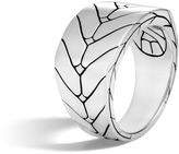 John Hardy Men's Modern Chain 13.5MM Band Ring in Sterling Silver