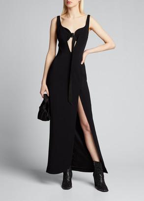 Olivier Theyskens Sleeveless Sweetheart Gown