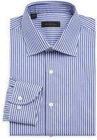 Saks Fifth Avenue COLLECTION Bengal Stripe Dress Shirt