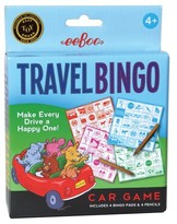 Eeboo Travel Bingo Game