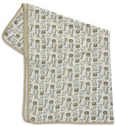 Little Me Animal Patterned Cotton Blanket