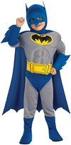 Rubie's Costume Co Batman Vintage-Color Muscle Chest Dress-Up Set - Toddler & Kids