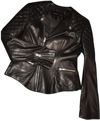 Atelier Vm Anthracite Leather Leather Jacket for Women