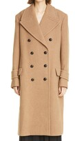 Thumbnail for your product : Victoria Beckham Oversize Double Breasted Wool & Cashmere Coat