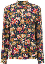 Vanessa Bruno floral embroidered shirt