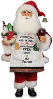 Karen Didion Originals Cooking with Wine Santa