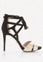 Bebe Lea Tassel Tie Sandals