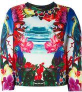 DSQUARED2 'Dean Fit' sweatshirt - women - Cotton/Polyester/Polyurethane/Spandex/Elastane - S