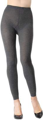 Me Moi Memoi Footless Ribbed Sweater Tights