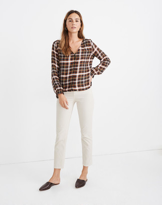 Madewell Classic Straight Jeans: Corduroy Edition