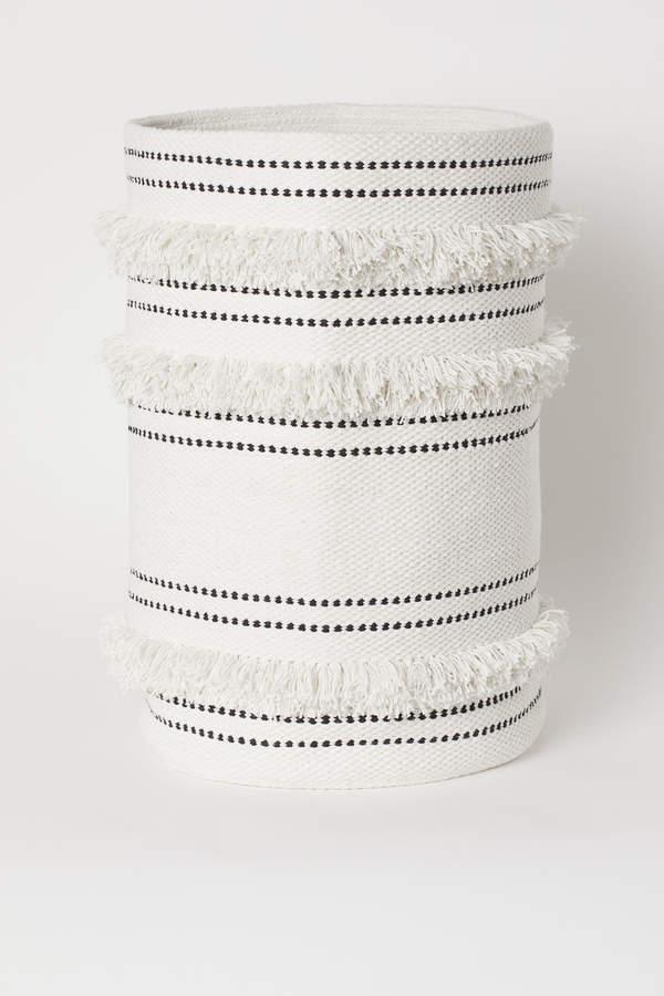 H&M Cotton Laundry Basket
