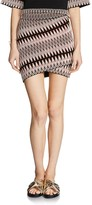 Maje Jenia Jacquard Mini Skirt