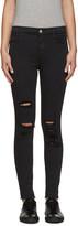 J Brand Black High-Rise Alana Jeans