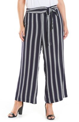 Estelle Stripe Tie Waist Pants