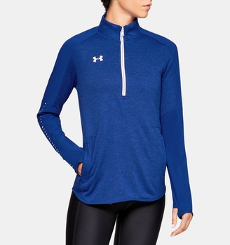 Under Armour Women's UA Knit Warm-Up Zip