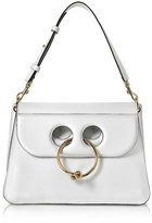 J.W.Anderson White Leather Medium Pierce Bag