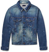 Simon Miller Distressed Denim Jacket