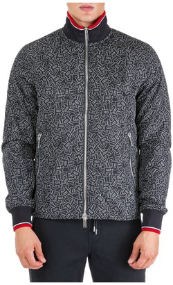 Christian Dior All-Over Logo Bomber Jacket