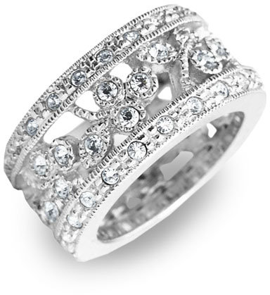 Nadri Pavé Crystal Ring