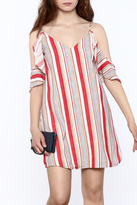 Do & Be Red Stripe Dress