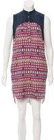 Mara Hoffman Abstract Printed Sleeveless Dress