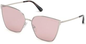 Tom Ford Helena 59MM Geometric Sunglasses