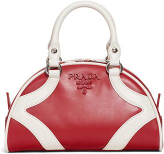 Prada Small Leather Bowler Bag