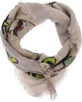 Faliero Sarti airplane print scarf