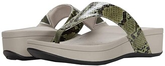 Vionic Naples (Olive Snake) Women's Sandals